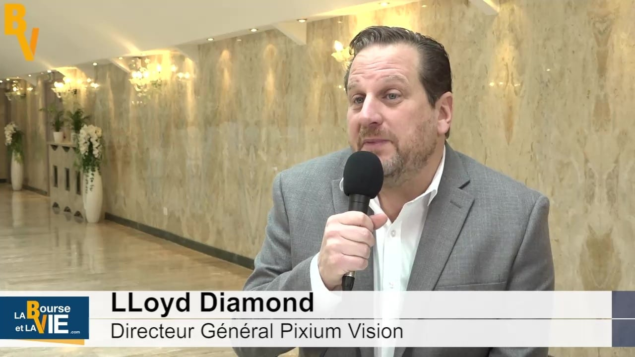 picture of Lloyd diamond CEO Pixium La bourse et la vie interview