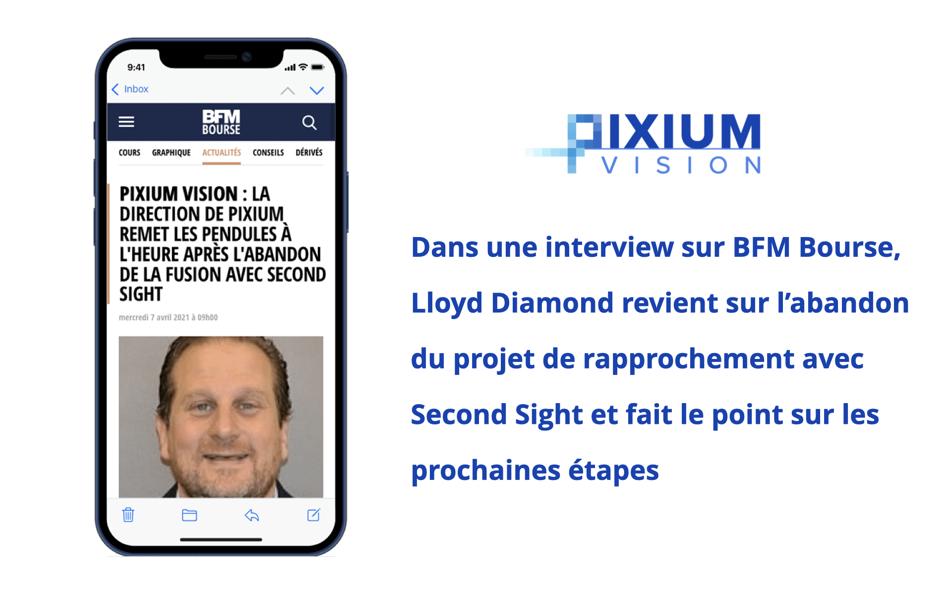 Lloyd Diamond interview sur BFM Bourse