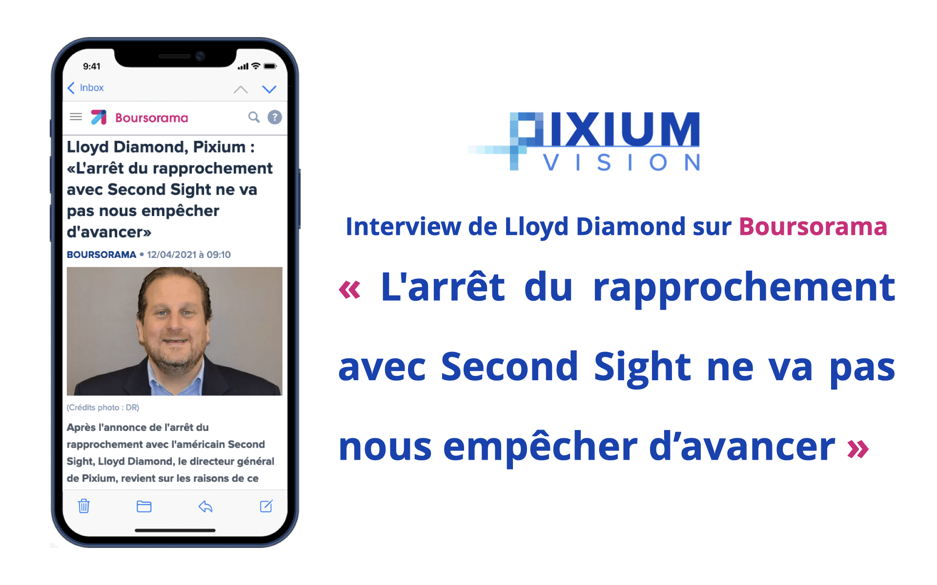 Interview de Lloyd Diamond sur Boursorama