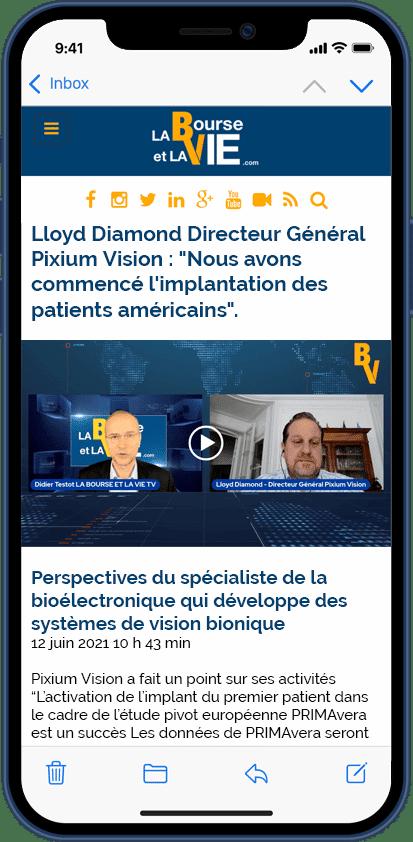 12/06/2021 Interview La Bourse et la Vie