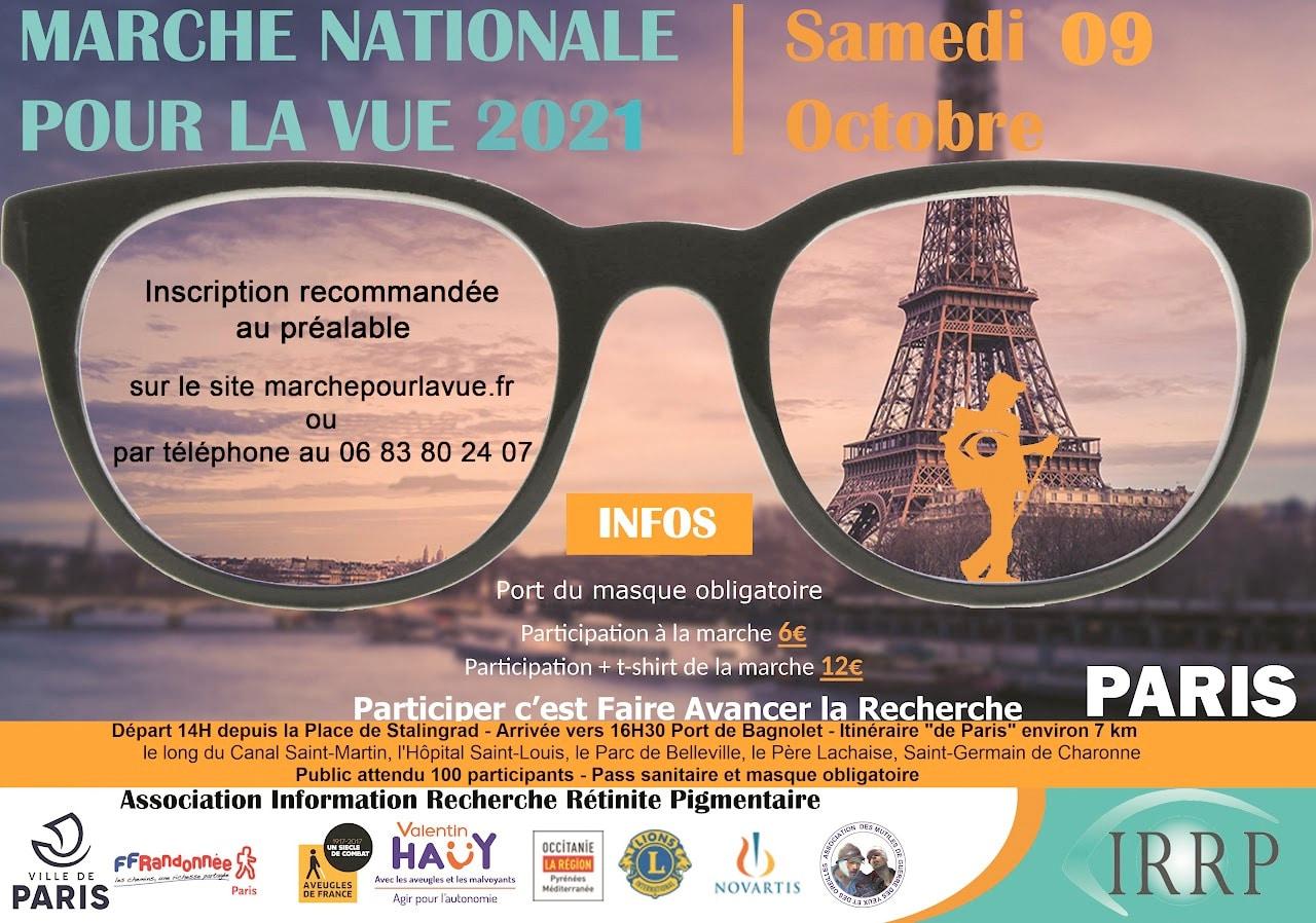 La Marche pour la Vue 2021 Paris